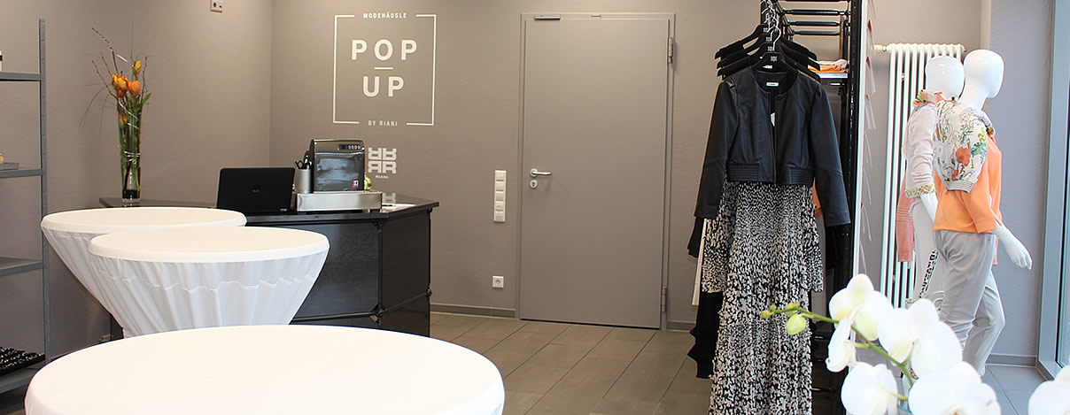 RIANI POP UP STORE in Balingen